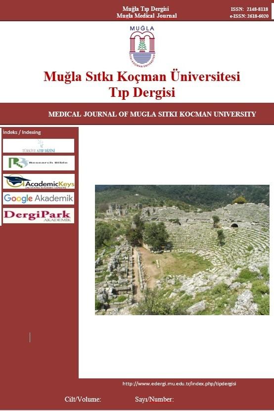 Muğla Sıtkı Koçman Üniversitesi Tıp Dergisi