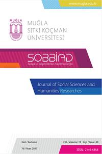 Sosyal ve Beşeri Bilimler Araştırmaları Dergisi